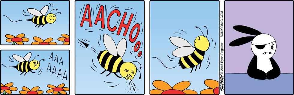 Bee allergy
