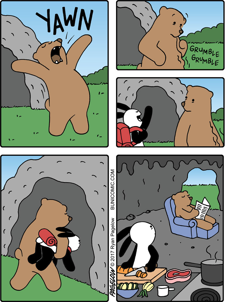 Post-Hibernation Snack