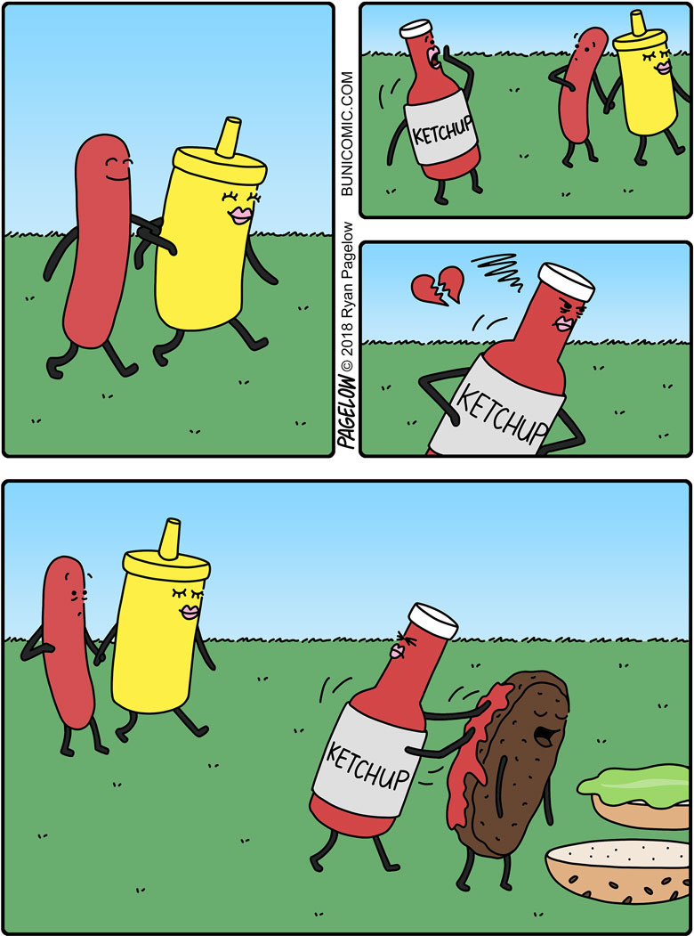 Mustard, Ketchup and Jealish