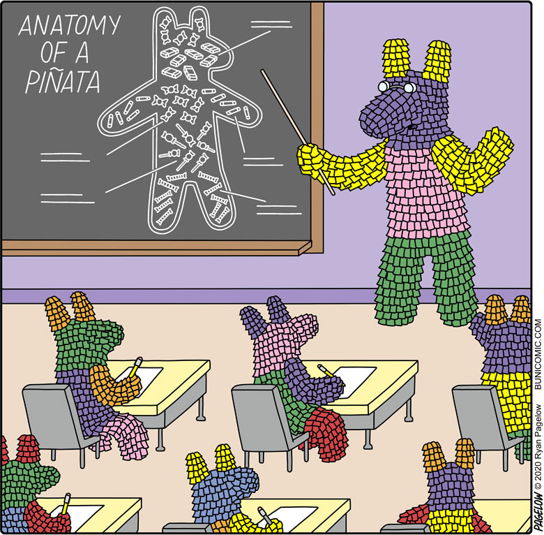I've studied piñatology